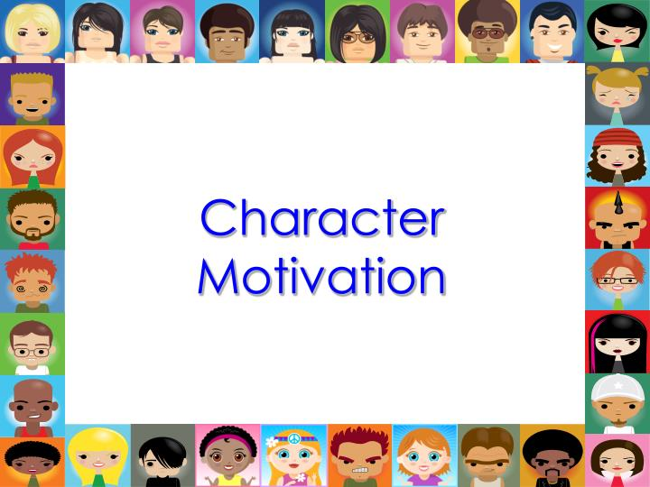 PPT Character Motivation PowerPoint Presentation ID 5871226