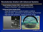 revolutionize aviation with advanced systems