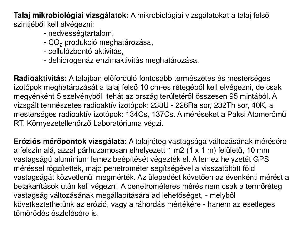 radioaktív szénhidrogének randi talajvíz