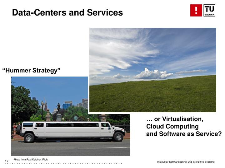 Data-Centers and Services