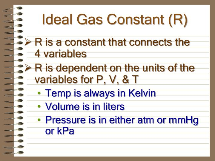 Ideal Gas Constant (R)