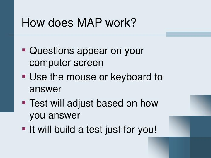 How does map work