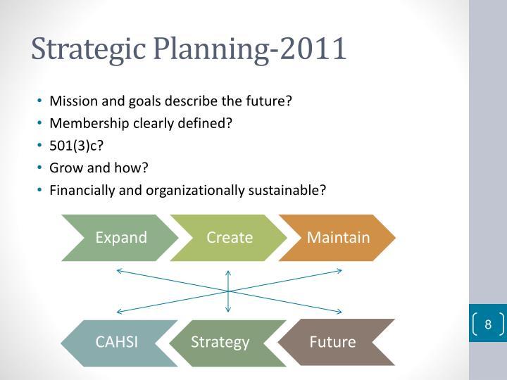 Strategic Planning-2011