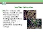 seed bed utilization2