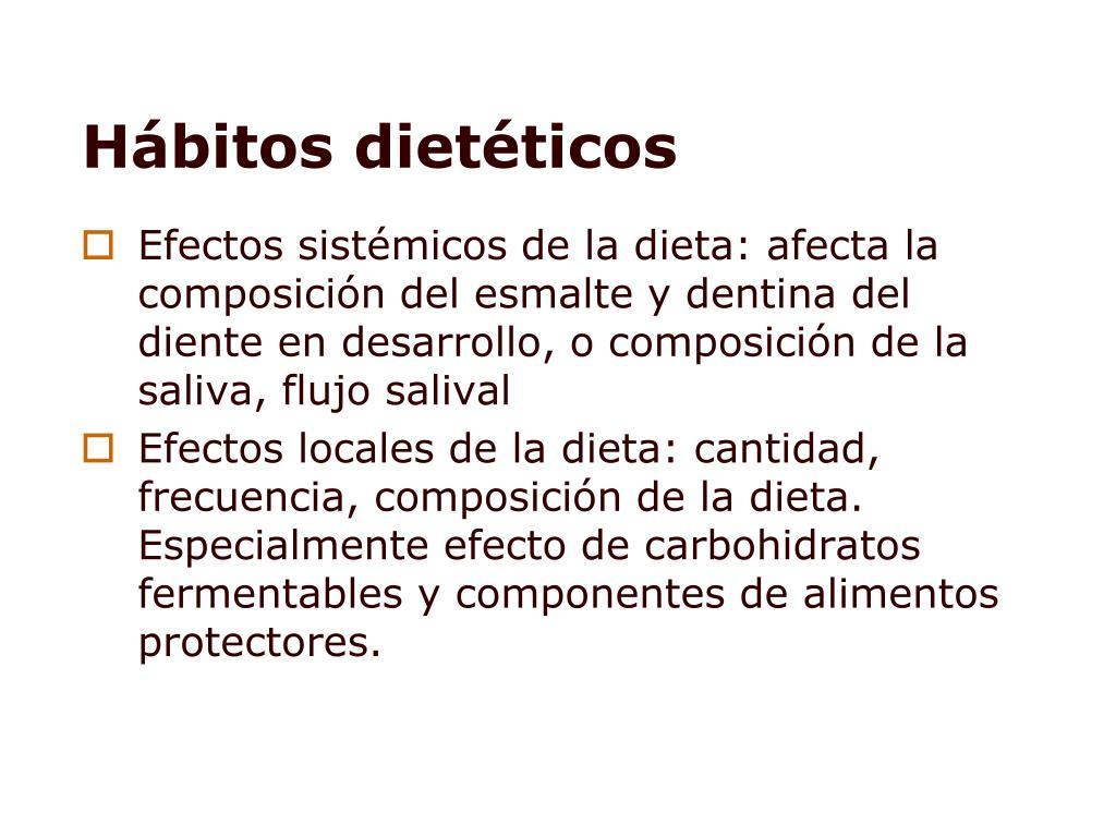 dietas especificass