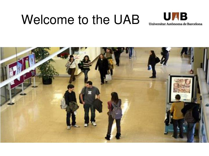 welcome to the uab n.