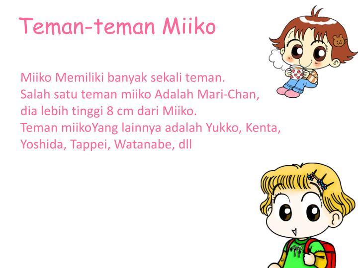 Teman-teman Miiko