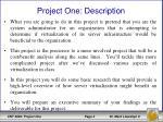 project one description