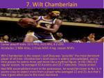 7 wilt chamberlain