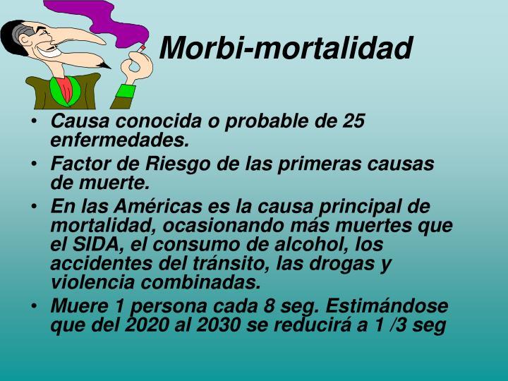 Morbi-mortalidad
