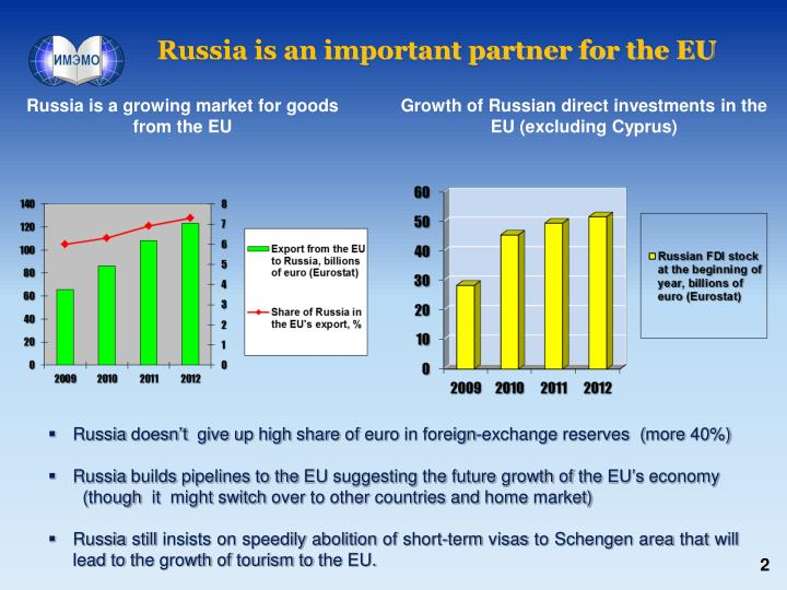 Russia is an important partner for the eu