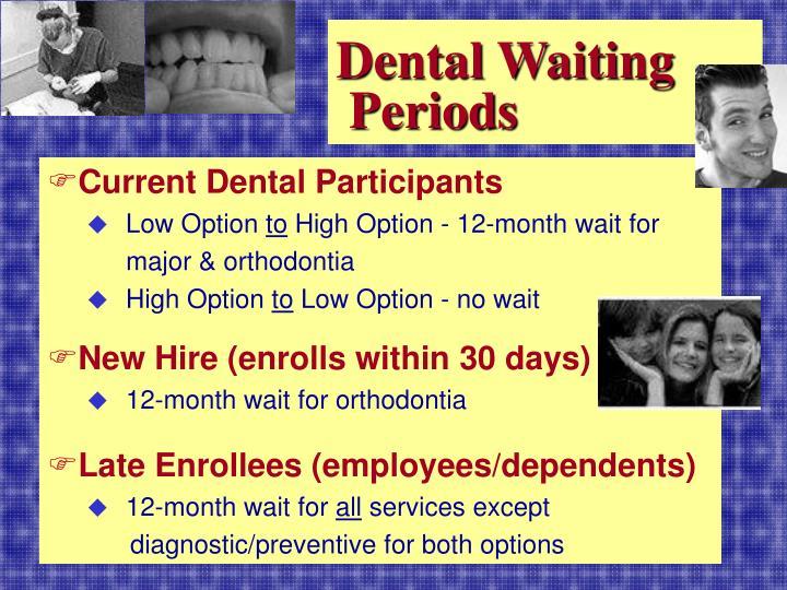 Dental Waiting
