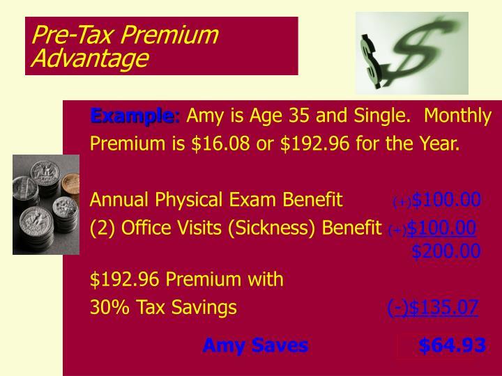 Pre-Tax Premium