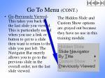 go to menu cont2