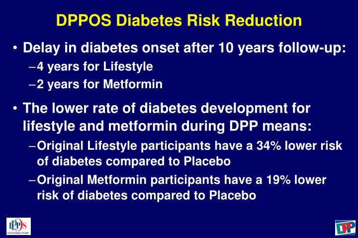 DPPOS Diabetes Risk Reduction