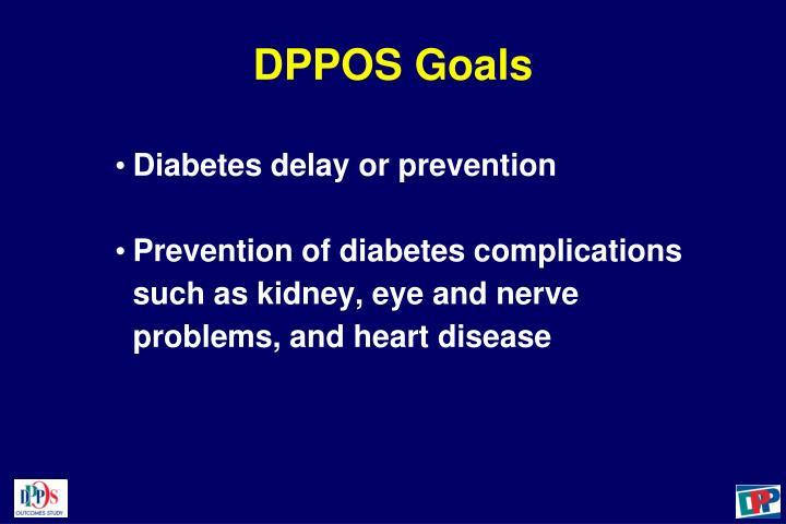DPPOS Goals