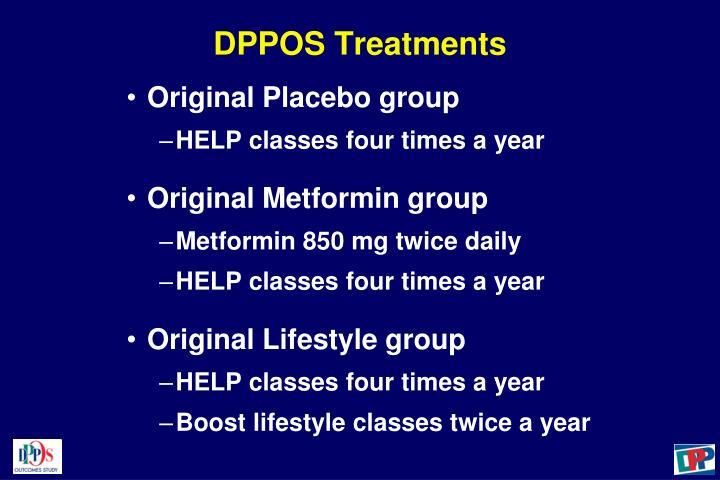DPPOS Treatments