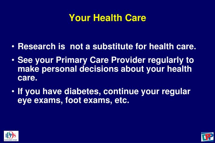 Your Health Care