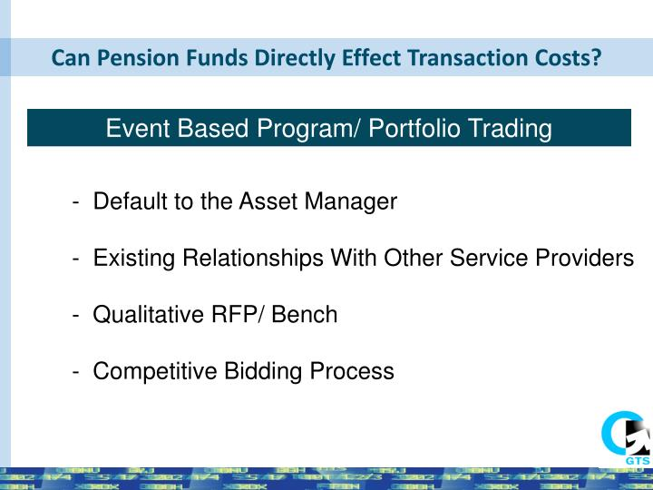 Can Pension Funds Directly Effect