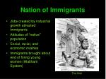 nation of immigrants