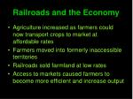 railroads and the economy