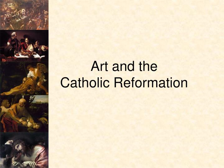 art and the catholic reformation n.