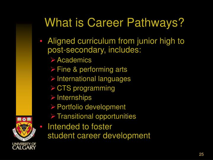 What is Career Pathways?