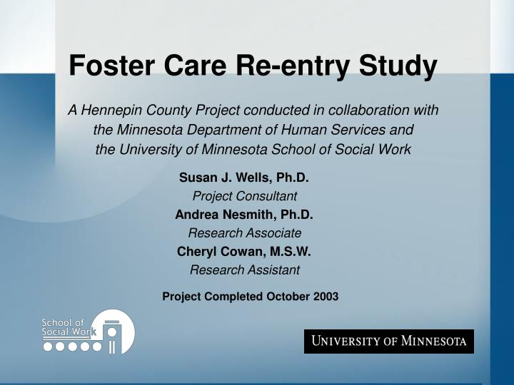 foster care research