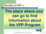 benefits of vpp 301