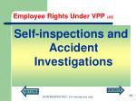 employee rights under vpp 40