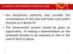 19 special procedure in certain cases1