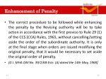 enhancement of penalty