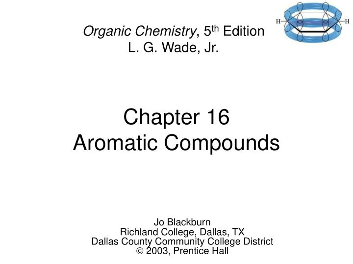 chapter 16 aromatic compounds n.