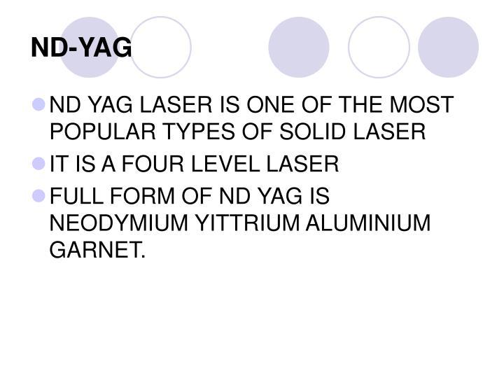 ND-YAG