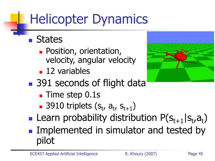 Helicopter Dynamics