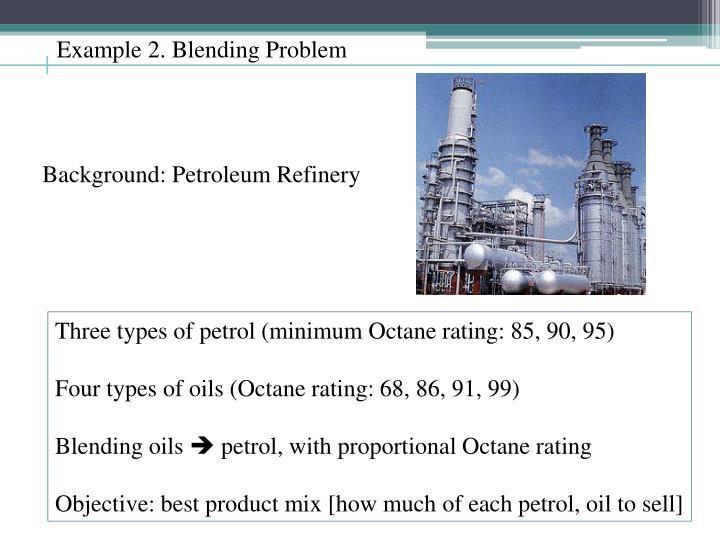 Background: Petroleum Refinery