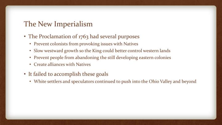 The New Imperialism