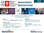 association sponsorship
