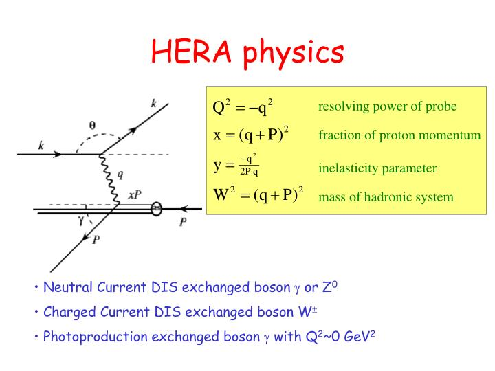 Hera physics