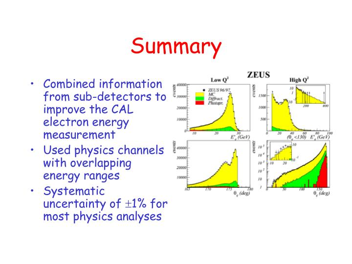 Combined information from sub-detectors to improve the CAL electron energy measurement