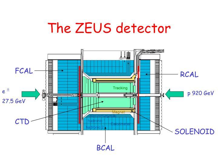 The ZEUS detector
