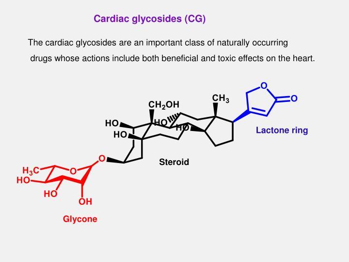 Cardiac glycosides (CG)