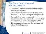 the great depression and macroeconomics
