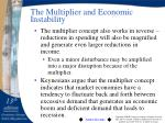 the multiplier and economic instability