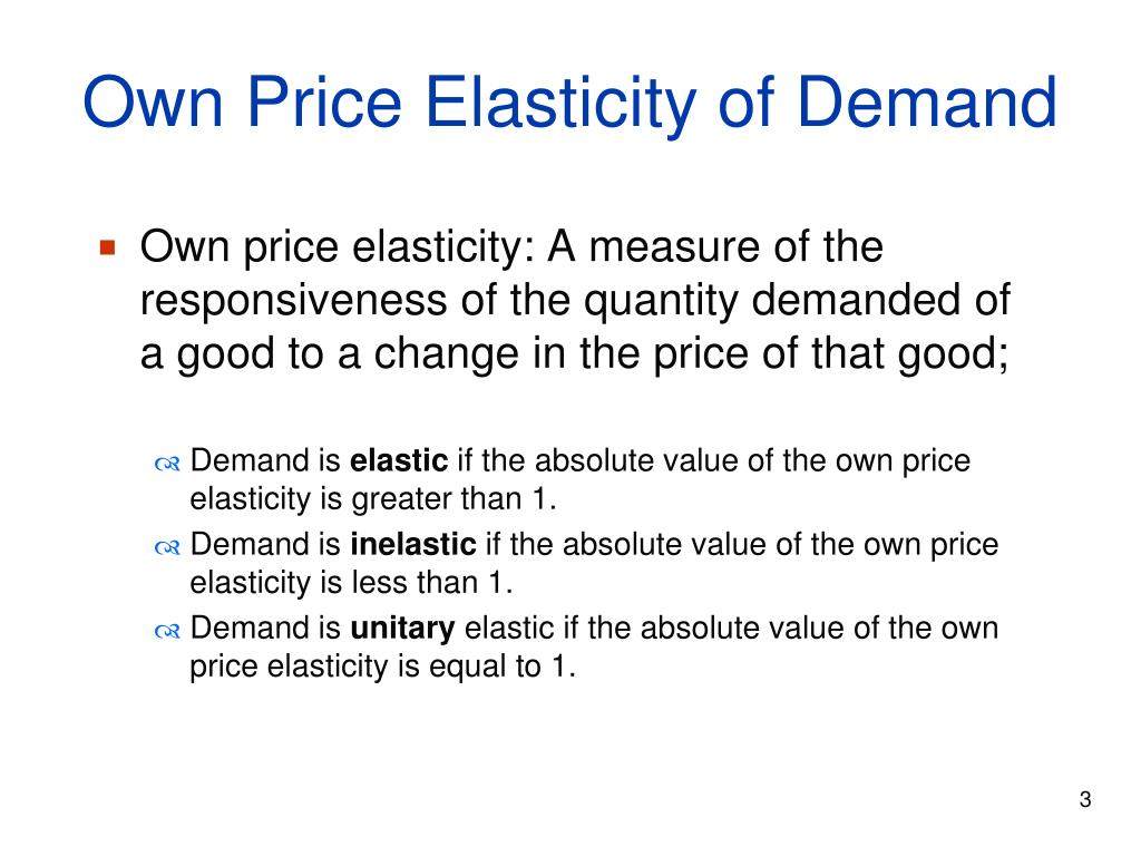 Ppt Managerial Economics Elasticity Powerpoint Presentation Free Download Id 5877163