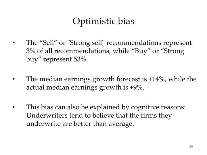 Optimistic bias
