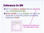 inference in bn