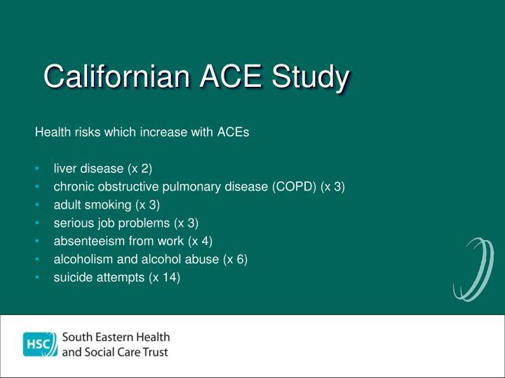 Californian ACE Study
