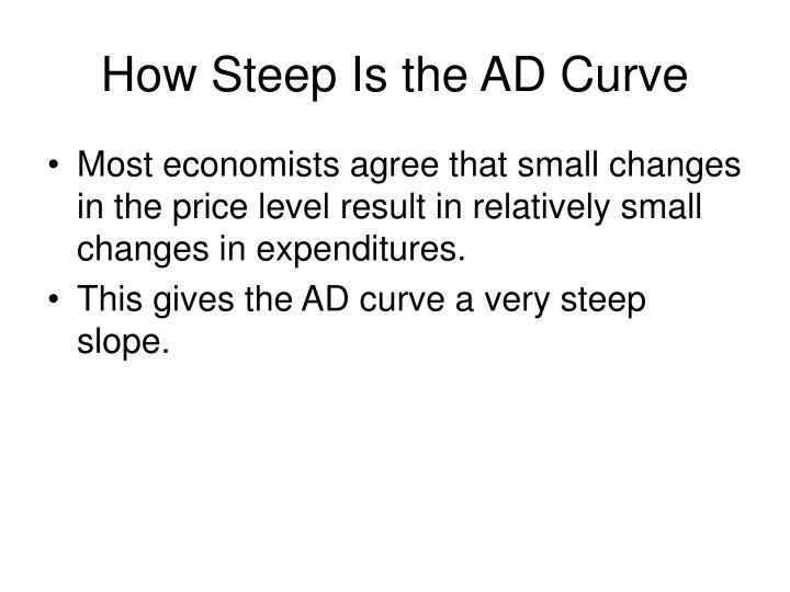 How Steep Is the AD Curve