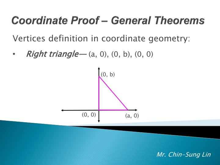 Vertices definition in coordinate geometry: